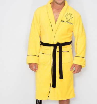 Men's Mr Happy Dressing Gown