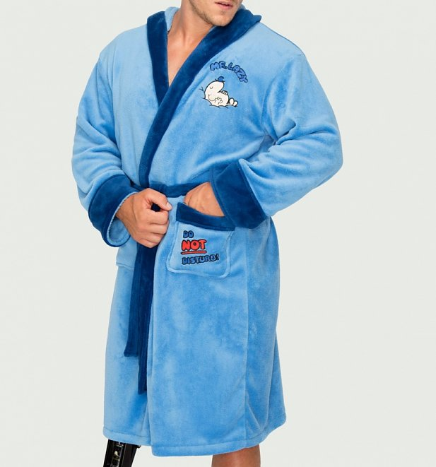 Men's Mr Lazy Dressing Gown with Hood