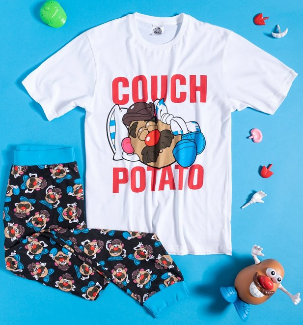 Men's Mr Potatohead Couch Potato Pyjamas