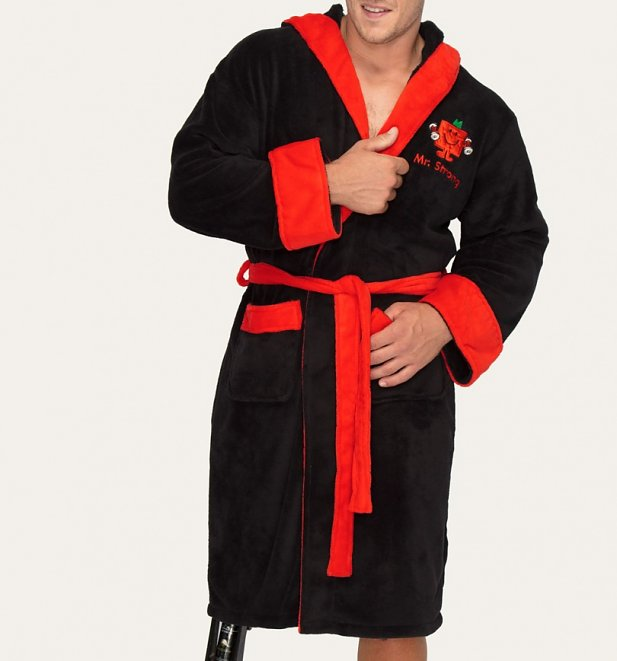 Men's Mr Strong Dressing Gown with Hood