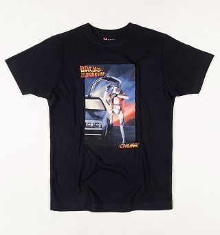 Men's Navy Back To The Darkside Star Wars T-Shirt from Chunk
