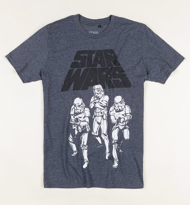 Men's Navy Star Wars Trooper Trio T-Shirt