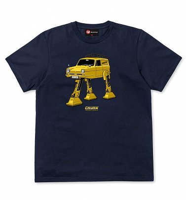 Men's Navy Trott Mobile T-Shirt from Chunk
