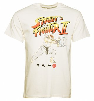 Men's Off White Street Fighter II Ryu T-Shirt