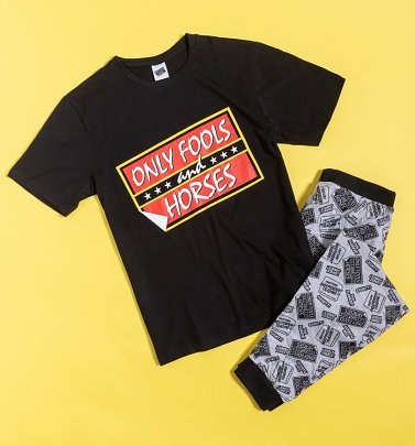 Men's Only Fools And Horses Logo Pyjamas