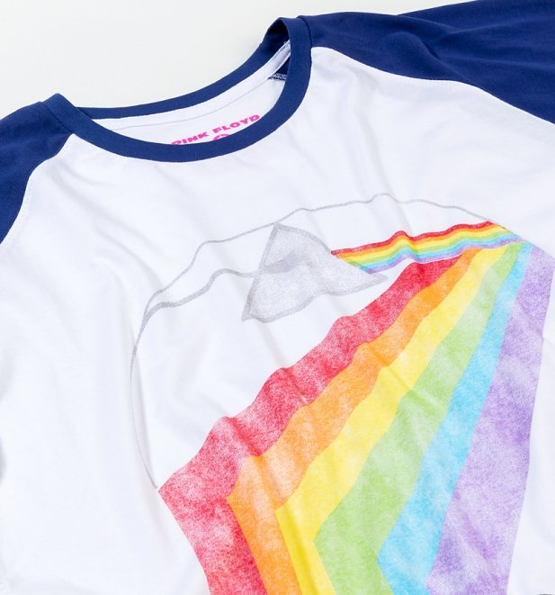 Men's Pink Floyd Prism Baseball T-Shirt