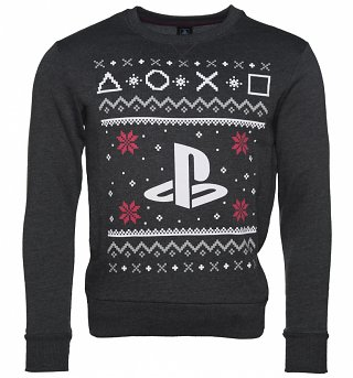 Men's PlayStation Fair Isle Christmas Sweater