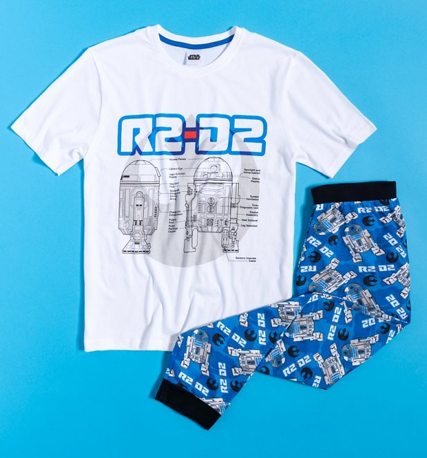 Men's R2-D2 Star Wars Pyjamas