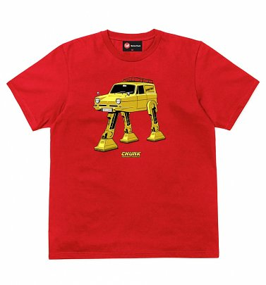 Men's Red Trott Mobile T-Shirt from Chunk