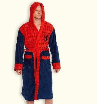 Men's Spider-Man Dressing Gown
