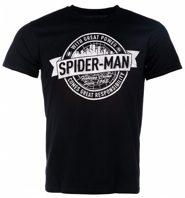 Spider-Man Fighting Crime Since 1962 T-Shirt