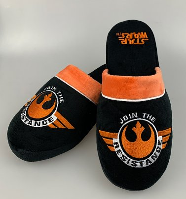 Men's Star Wars Join The Resistance Slip On Slippers