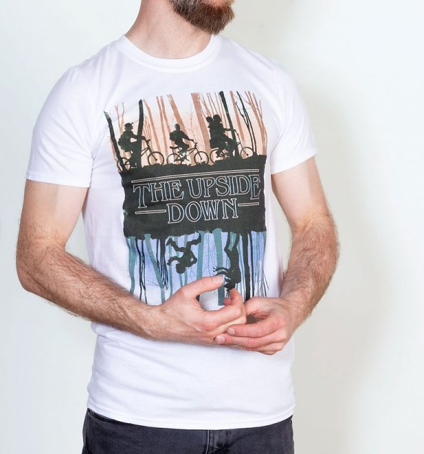 """The Upside Down""-T-Shirt Herren - Stranger Things"