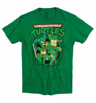 Men's Teenage Mutant Ninja Turtles Ready For Action T-Shirt