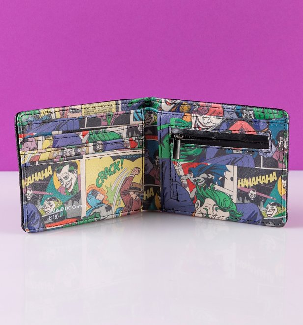 Men's The Joker Vintage Comic Wallet