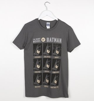 Men's The Many Moods of Batman T-Shirt