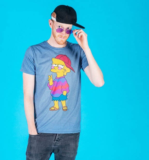 Men's The Simpsons Cool Lisa T-Shirt