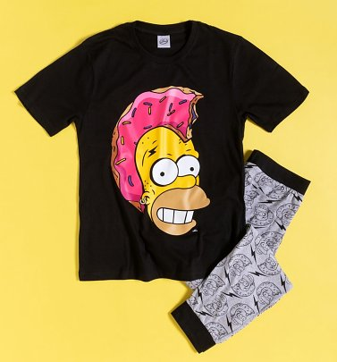 Men's The Simpsons Homer Mohawk Pyjamas