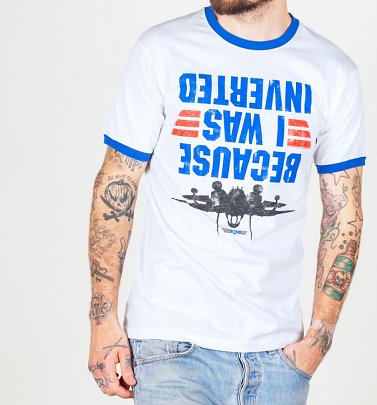 """Because I Was Inverted"" T-Shirt Herren - Top Gun"