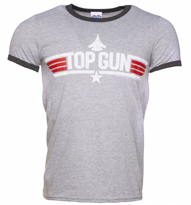 Men's Top Gun Maverick Ringer T-Shirt