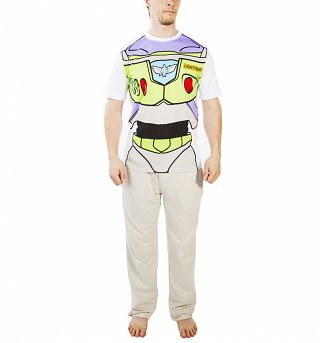 Men's Toy Story Buzz Lightyear Costume Pyjamas