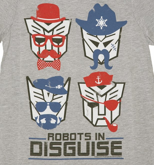 Men's Transformers Retro Robots in Disguise T-Shirt