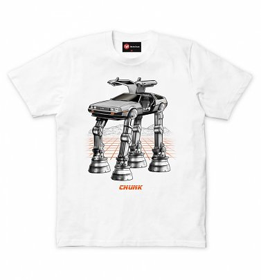 Men's White Future Wars T-Shirt from Chunk