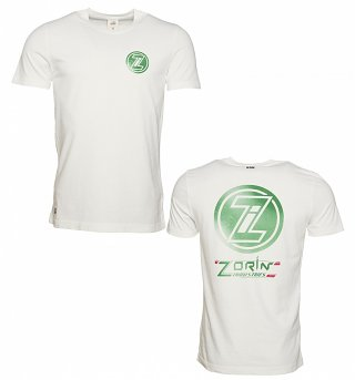 Men's White Zorin Industries James Bond T-Shirt from Chunk