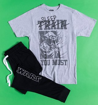 Men's Yoda Sleep You Must Star Wars Pyjamas