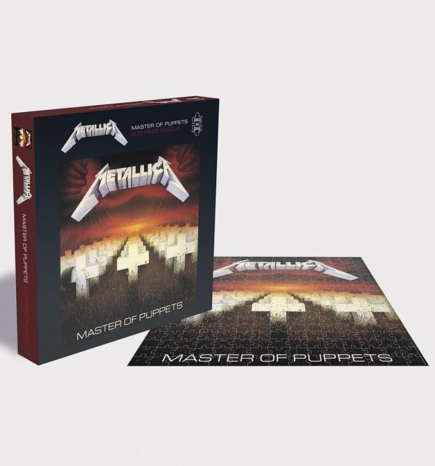 Metallica Master Of Puppets 500 Piece Jigsaw Puzzle from Rock Saws