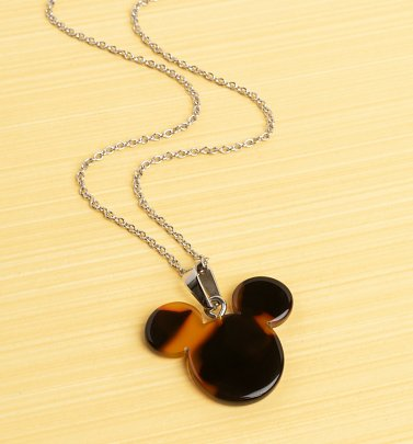 Mickey Mouse Tortoiseshell Necklace