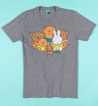Miffy And Friends Grey T-Shirt