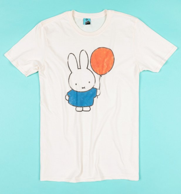 Miffy Balloon Ecru T-Shirt