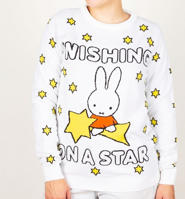 Miffy Wishing On A Star Knitted Jumper