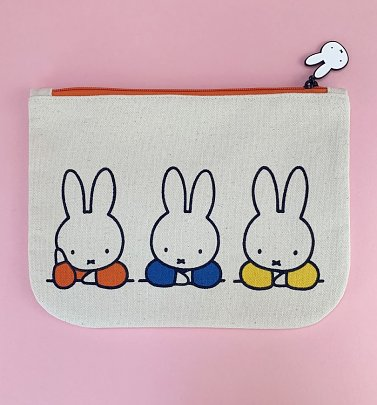 Miffy Elbows Canvas Pouch