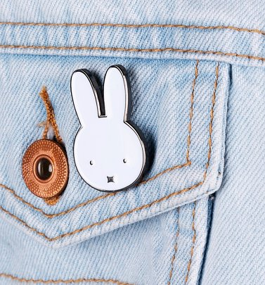 Miffy Face Enamel Pin