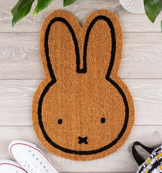 Miffy Face Shaped Door Mat
