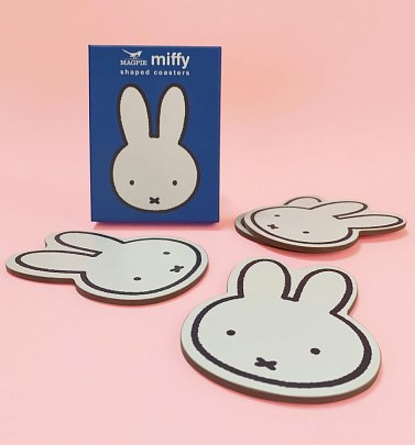 Miffy Shaped Coasters