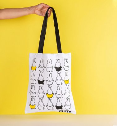 Miffy Two Sided Canvas Tote Bag