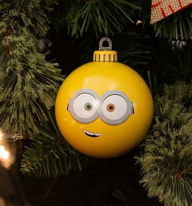 Minions Bob Bauble Christmas Decoration from Bauble Heads