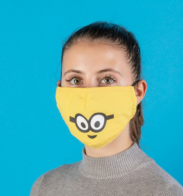 Minions Bob Disney Face Mask from Difuzed