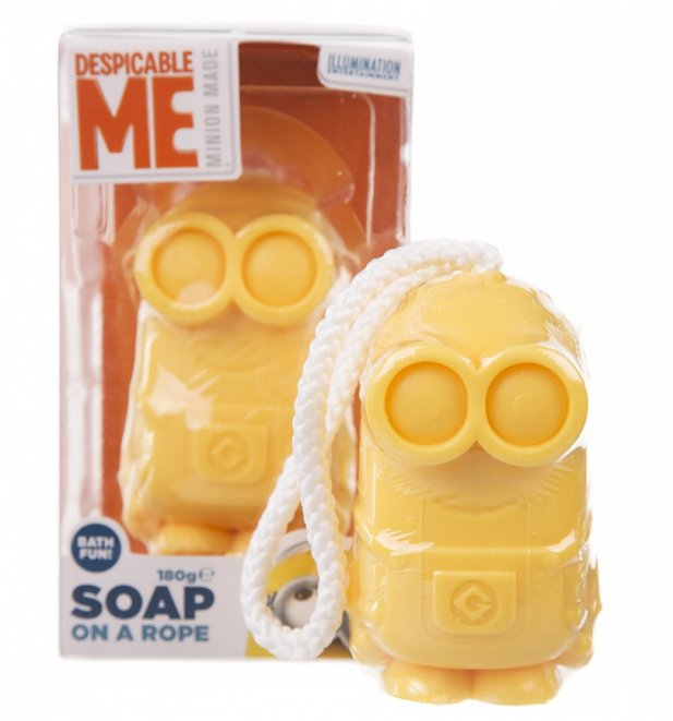Minions Dave Soap On A Rope