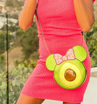Minnie Mouse Avocado Disney Crossbody Bag from Danielle Nicole