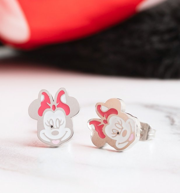Minnie Mouse Stud Earrings