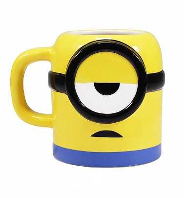 Mood: Coffee Shaped Minions Mug