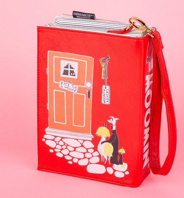 Moomin Book Cross Body Bag from House of Disaster