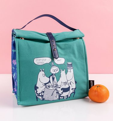 Moomin Insulated Canvas Lunch Bag