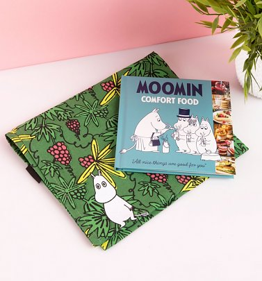 Moomin Comfort Food Cookbook and Tea Towel