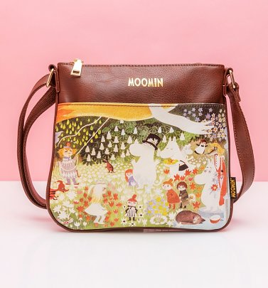 Moomin Dangerous Journey Cross Body Bag from House of Disaster