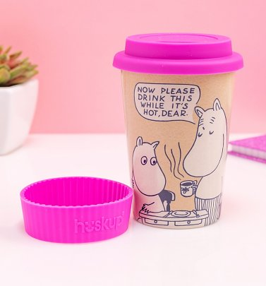 Moomin Drink This While It's Hot Huskup Travel Mug